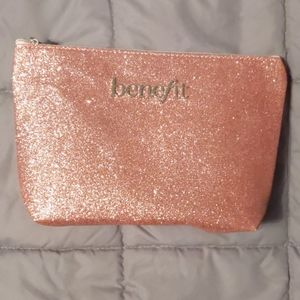 Large Benefit Glitter Cosmetics Case
